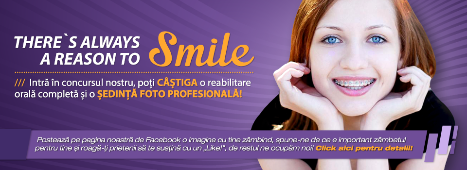 """Regulament campanie """"There`s always a reason to SMILE!"""""""