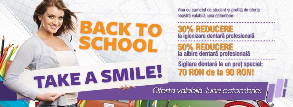Back to school?  Take a smile!