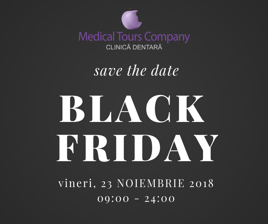 Black Friday 2018 – save the date!